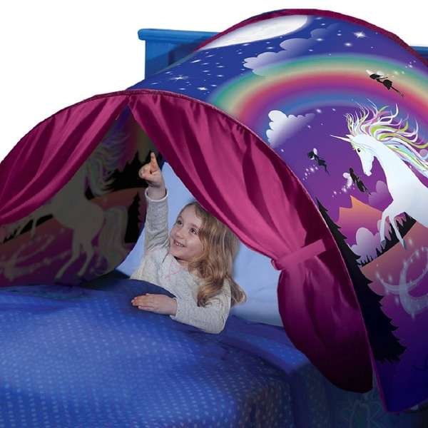 Deluxe Dream Tents In Unicorn Space Dinosaur Or