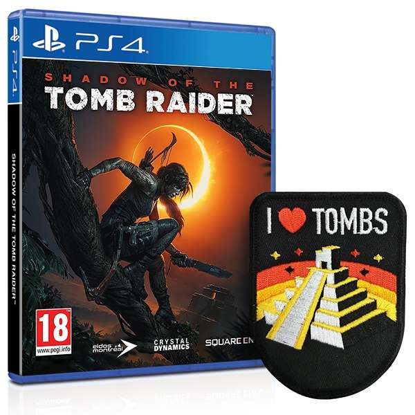 Shadow Of The Tomb Raider: Shadow Of The Tomb Raider + I Love Tombs Patch (PS4/Xbox