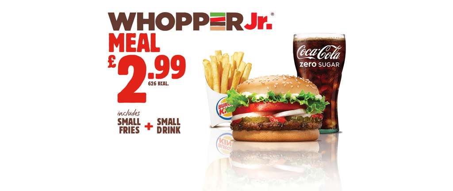 Whopper Jr Meal 299 Burger King