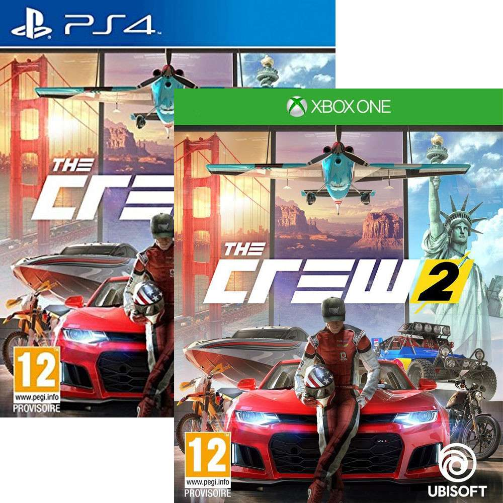 the crew 2 ps4 xbox one now 17 asda or amazon. Black Bedroom Furniture Sets. Home Design Ideas