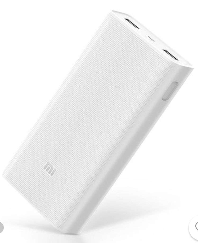 original xiaomi 2c 20000mah quick charge 3 0 polymer power. Black Bedroom Furniture Sets. Home Design Ideas