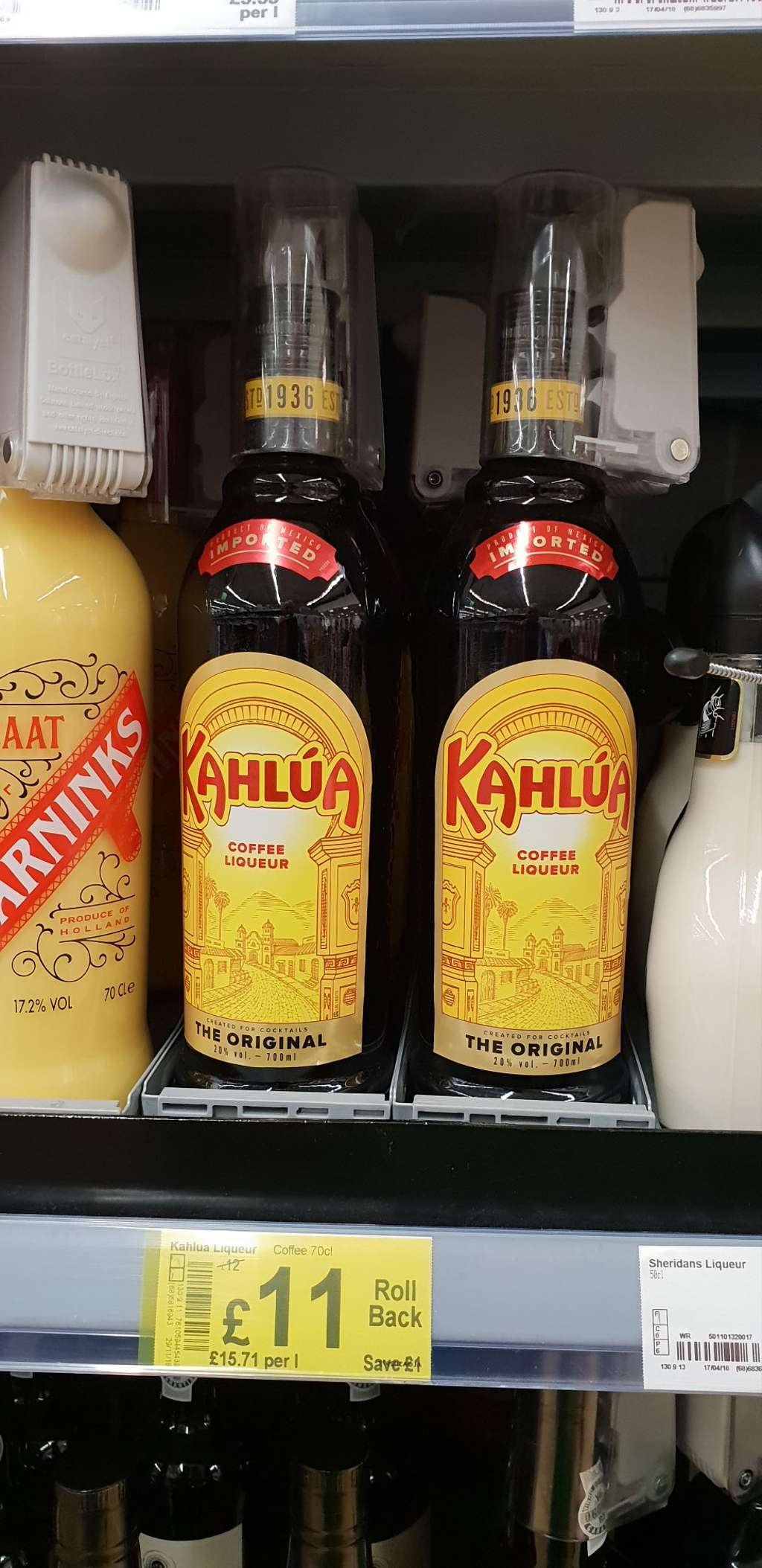 Kahlua Coffee Liqueur 70cl 1100 At Asda Sainsburys And