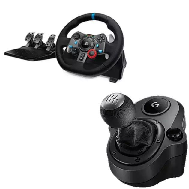 logitech g29 driving force racing wheel shifter. Black Bedroom Furniture Sets. Home Design Ideas
