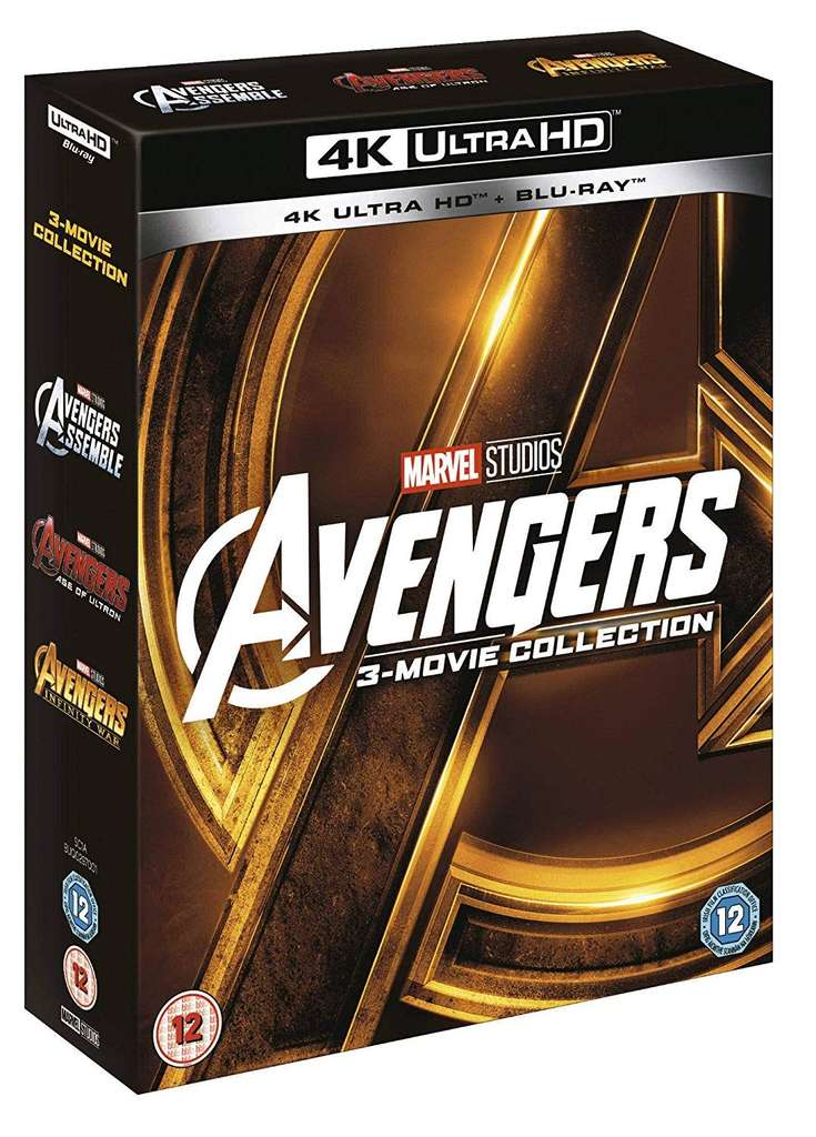 avengers 3 movie collection 4k with blu ray uhd delivered zoom hotukdeals
