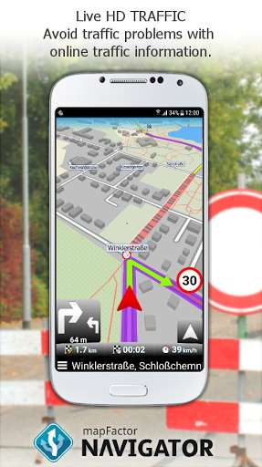 MapFactor GPS Navigation Maps free (and updates itself to