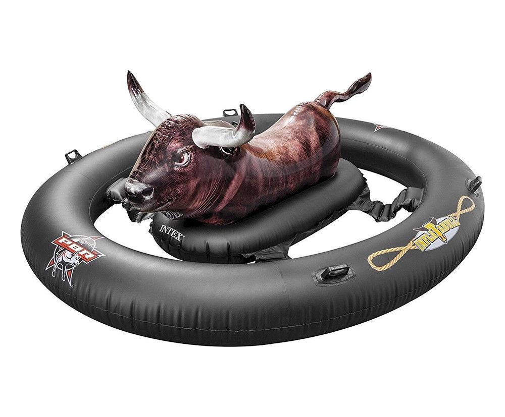 Intex Inflatable Rodeo Bull Bucking Bronco Beach Swimming