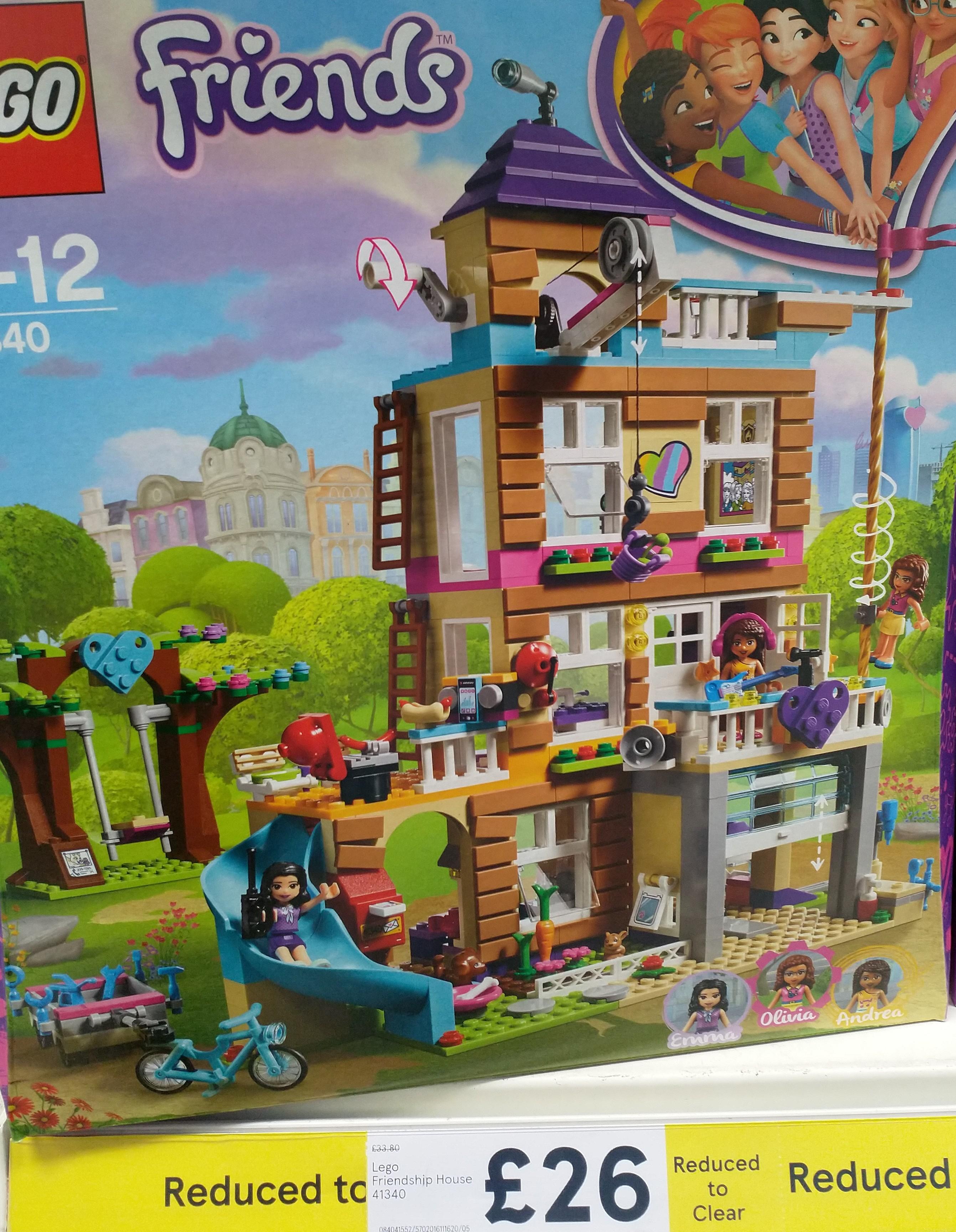 Lego Friends Friendship House 41340 Tesco 26 Hotukdeals