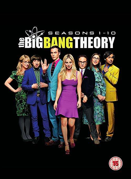 The Big Bang Theory Seasons 1 10 Dvd Boxset 1556 Prime 1855
