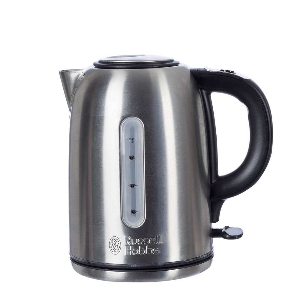 russell hobbs buckingham quiet boil cordless kettle. Black Bedroom Furniture Sets. Home Design Ideas