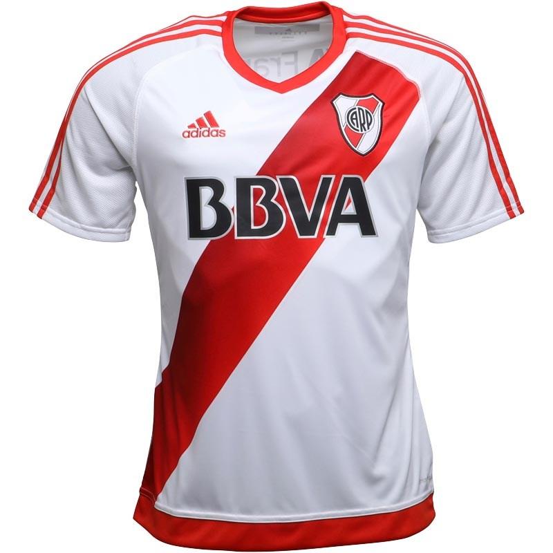 2eeadbd14 Adidas Mens CARP River Plate Home Shirt White Power Red £7.99 + £4.99 del  at MandM Direct - hotukdeals