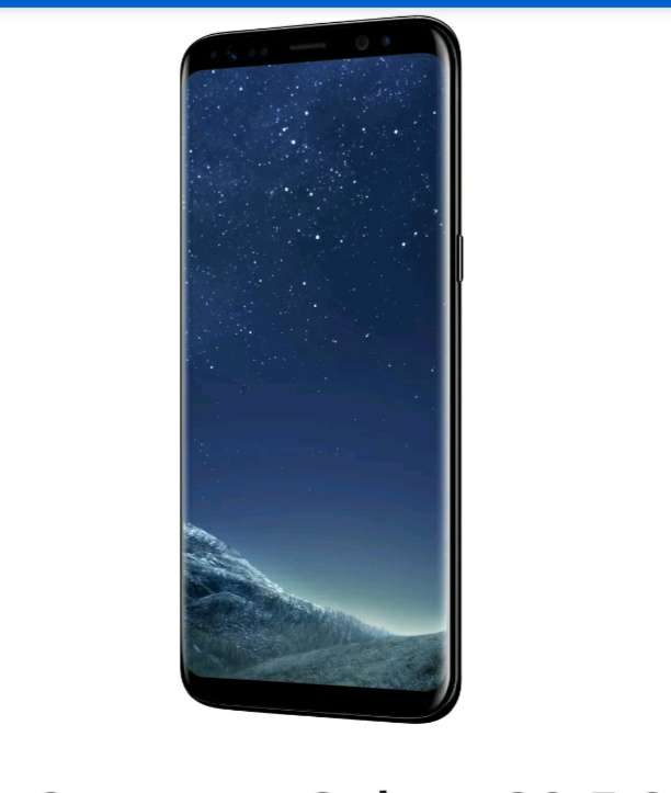 sim free samsung galaxy s8 5 8 inch 64gb 12mp 4g mobile phone black refurbished