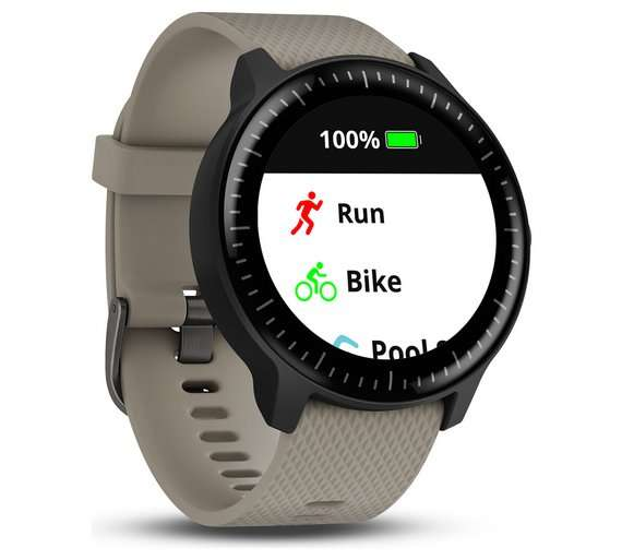 QnA VBage 115° - Garmin vivoactive 3 music and extra strap £219.99 at Argos click and collect