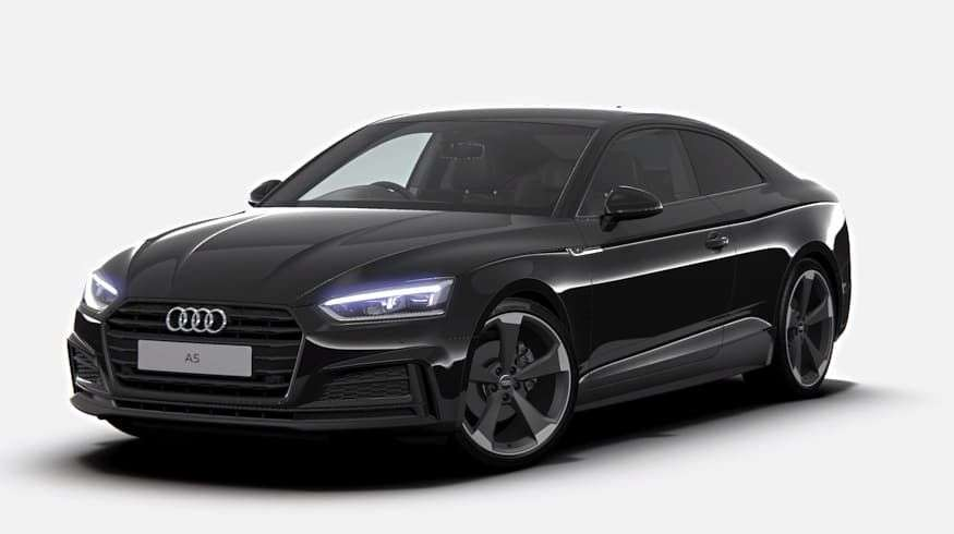 audi a5 coupe 40 tfsi black edition 2dr s tronic 24 m lease 8 738 central vehicle leasing. Black Bedroom Furniture Sets. Home Design Ideas