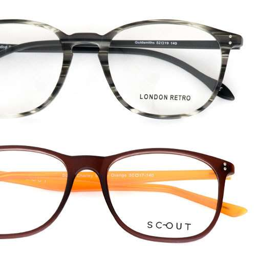 2 pairs of prescription lens glasses for £19 delivered ...
