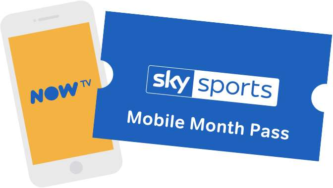 2 months of Sky Sports Mobile Month Pass for just £1 per