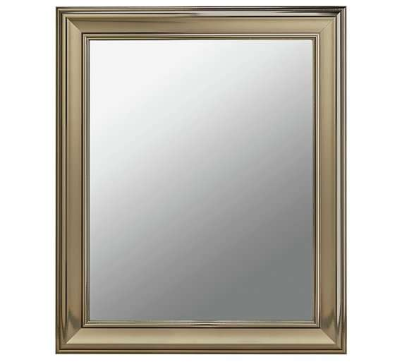 Cambridge Wall Mirror Silver For 163 9 99 Free C Amp C Argos