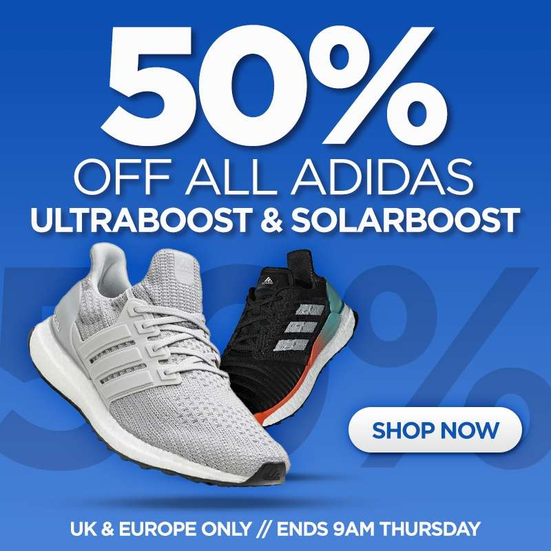 50% off all Adidas Ultraboost   Solarboost   Real Buzz Store - hotukdeals c6cce29fa
