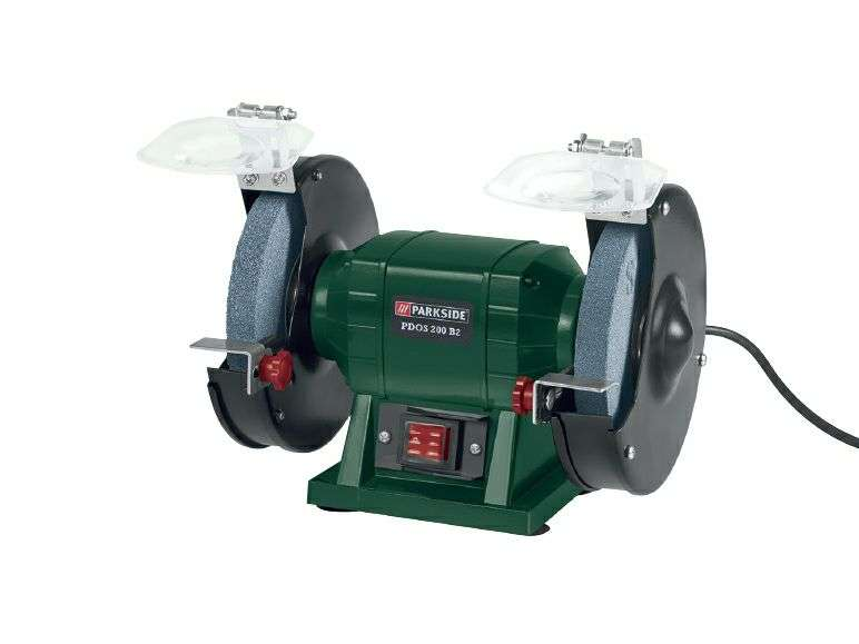 Parkside Double Bench Grinder 3 Year Warranty 163 19 99