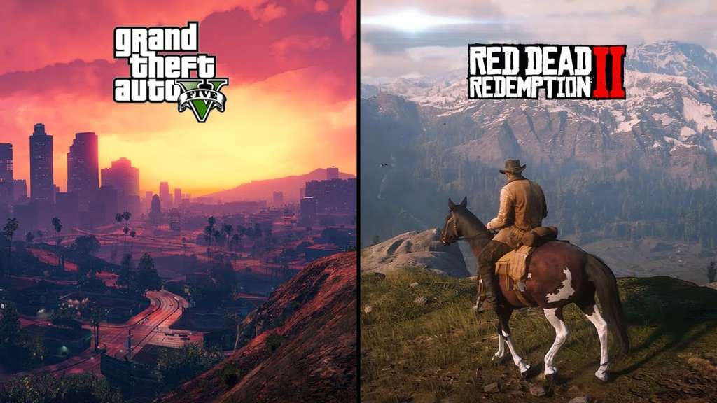 Free $500,000 in GTA V and 10 Gold Bars in RDR2 @ Rockstar Games