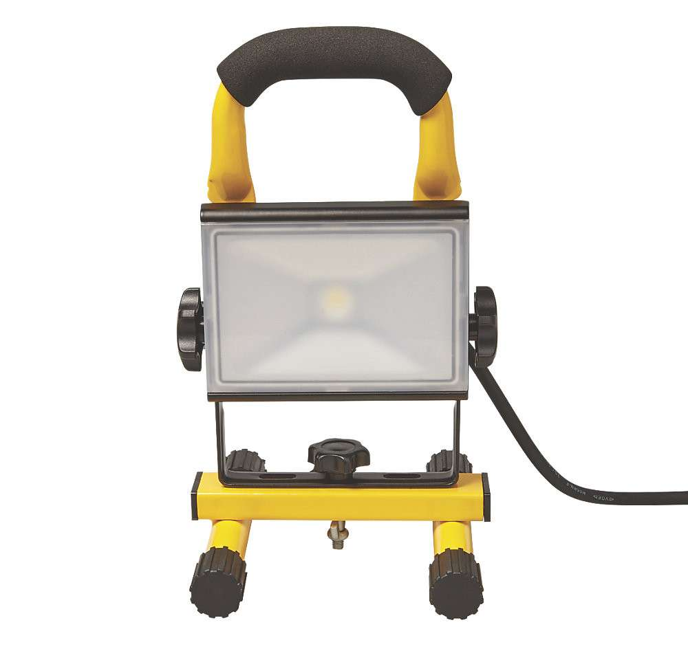 Work Light Screwfix: Diall Mains-Powered LED Work Light 11W 220-240V
