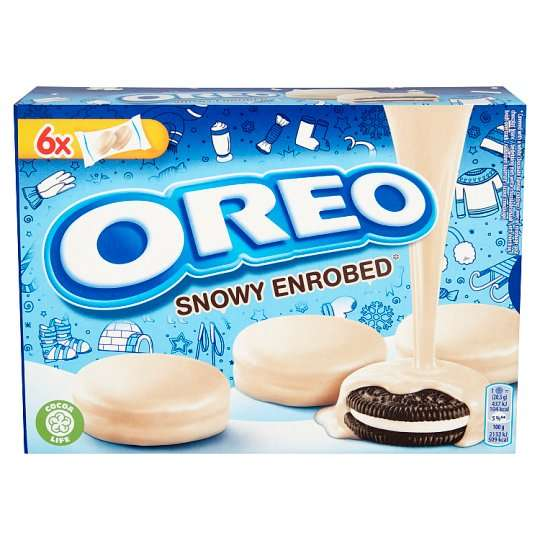 Oreo White Chocolate Covered 246g Oreo Milk Chocolate