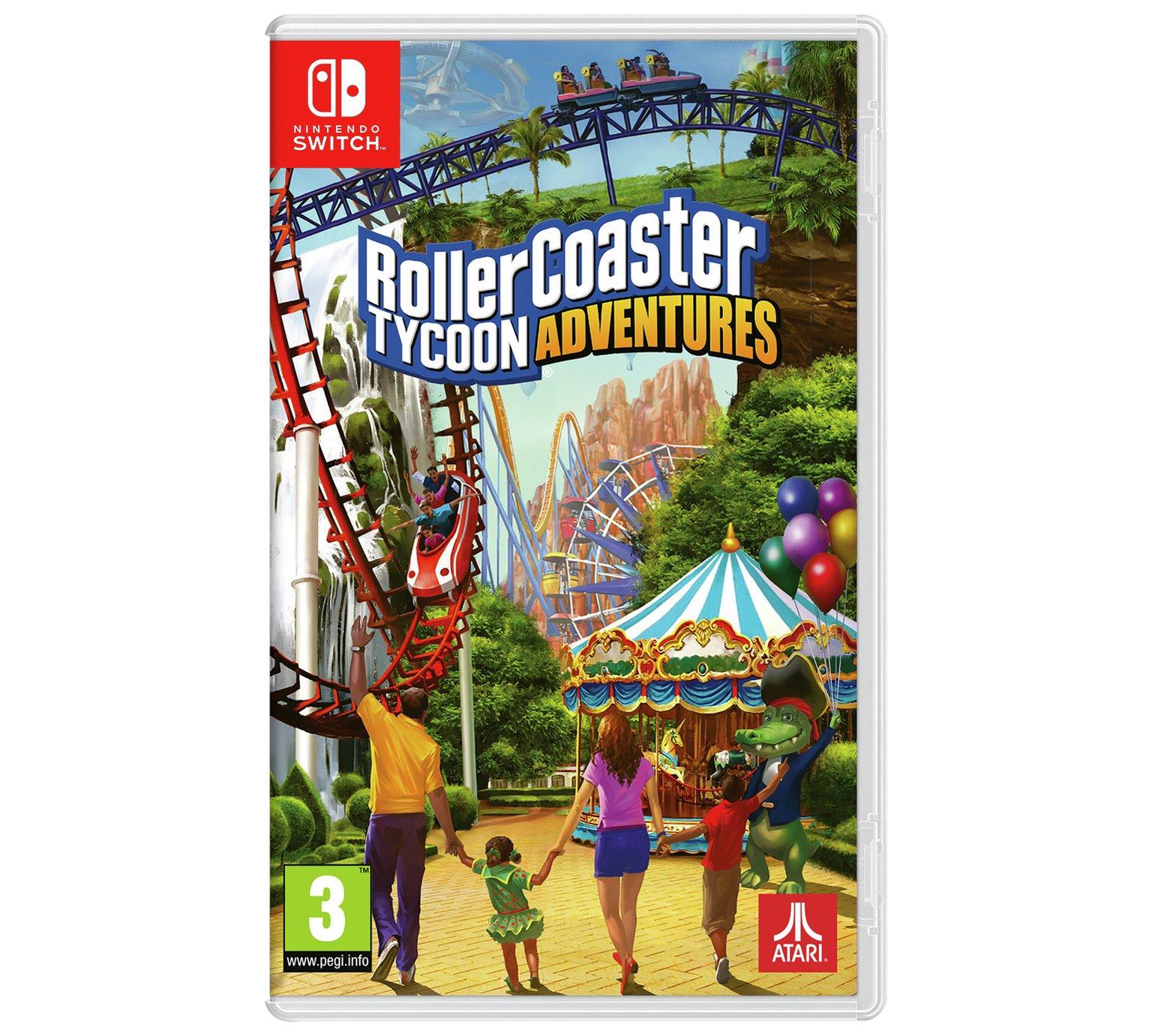 Roller Coaster Tycoon Adventures Nintendo Switch £23 99 Argos