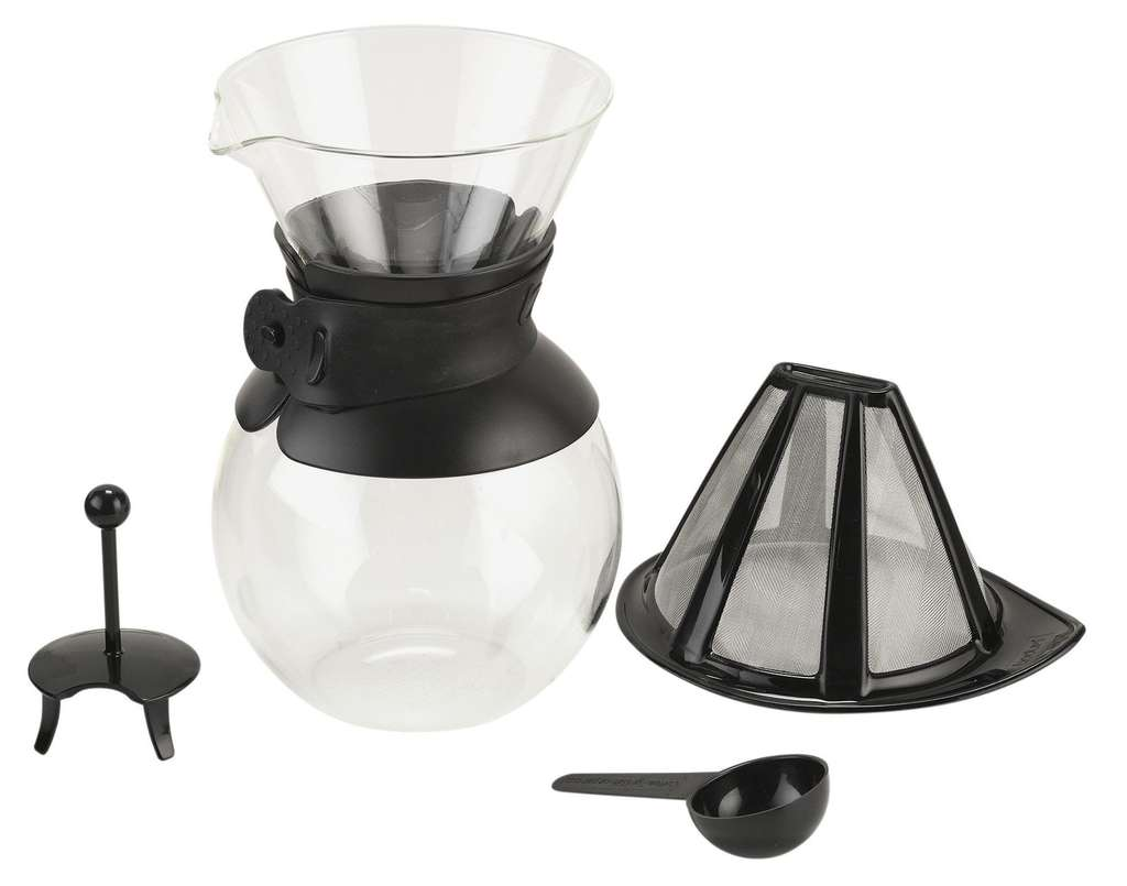Bodum 1 Litre Pour Over Coffee Maker With Permanent Filter
