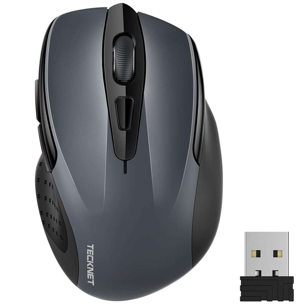 276e5443f8d TeckNet Wireless Mouse, Pro 2.4G USB Optical PC Mouse w/ 24 Month Battery  Life £7.49 Prime / £11.98 Non Prime Sold by BLUETREE and FBA - hotukdeals