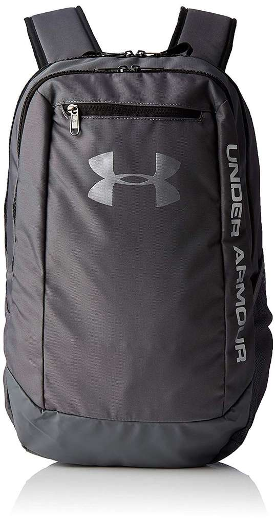4ab0255ead72 Under Armour Men s Hustle Ldwr Traditional Backpack 29L Graphite Black