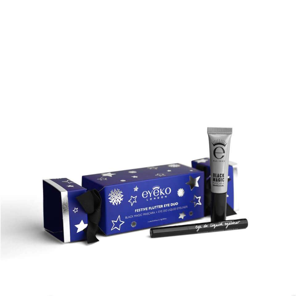 fe209ab092f Eyeko Christmas Cracker (Worth £19) Incl. Black Magic Mascara & Eye Do  Eyeliner (Travel Size) £4.80 with code + Free Delivery @ Eyeko