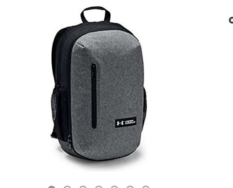 39f1d76ba52d Under Armour Roland Backpack (15Inch) £15.50 (£19.99 Non Prime)   Amazon