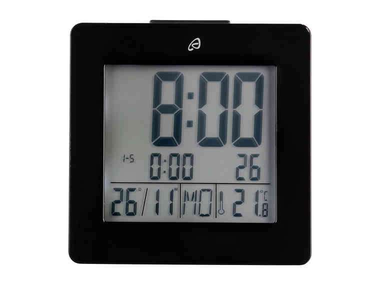 Auriol Lcd Radio Controlled Alarm Clock 163 4 99 From Lidl