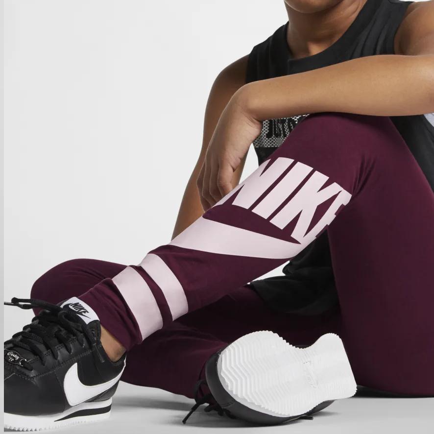 best service 38240 167d5 Older Kids  (Girls ) Nike Sportswear Graphic Leggings (was £21.95) Now  £14.97 + Free Delivery   Nike