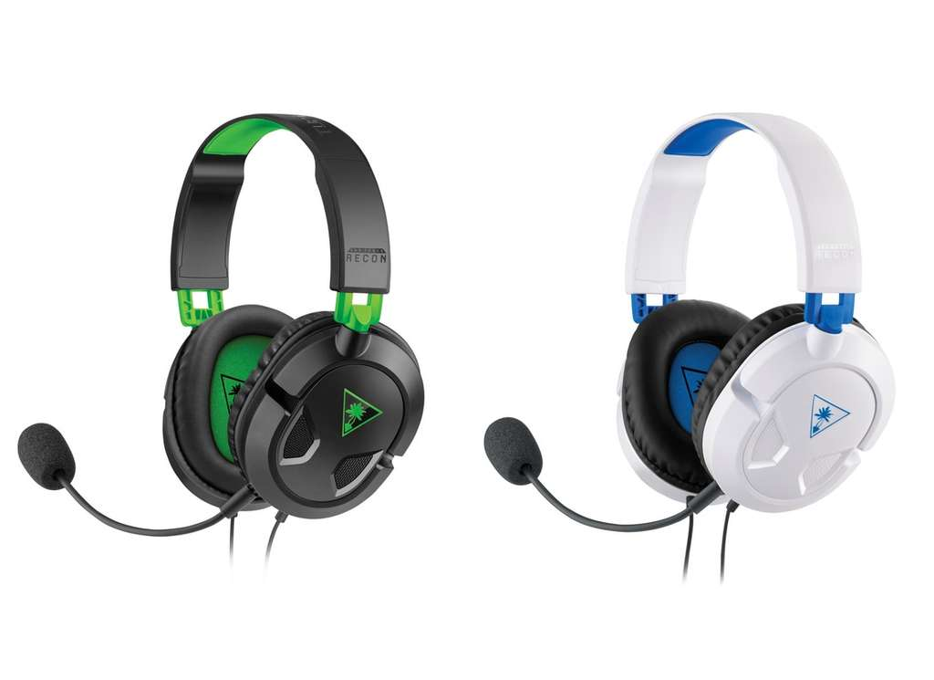 c2ba70d8c9b Turtle Beach Ear Force Recon 50X Headset Xbox One / 50P White Headset PS4  for £19.99 @ Smyths (Free C&C)