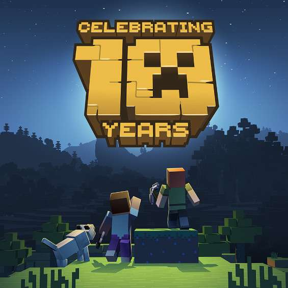 Minecraft Anniversary Map (Xbox One /Switch /Windows 10 /iOS