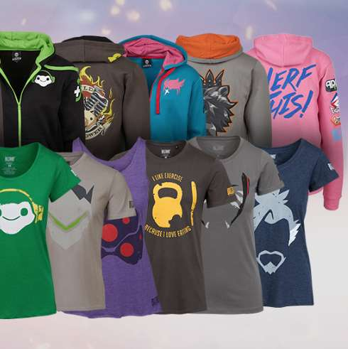 Overwatch 50% off Select Apparel at Blizzard Gear Store