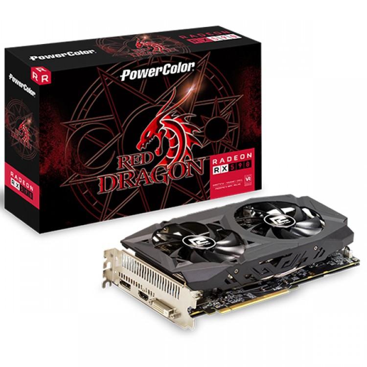 Powercolor RADEON RX 590 Red Dragon 8192MB GDDR5 Graphics