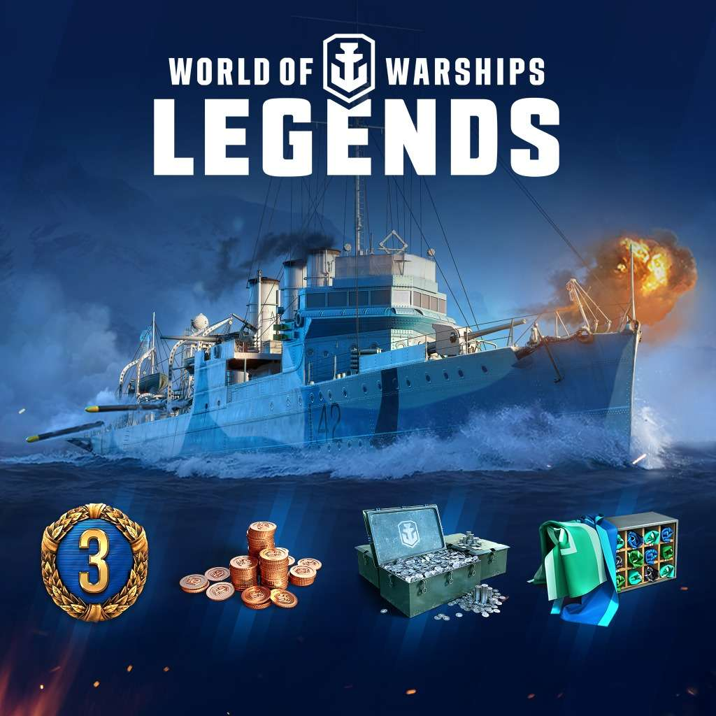 World of Warships: Legends - PlayStation Plus Pack (PS4/Xbox