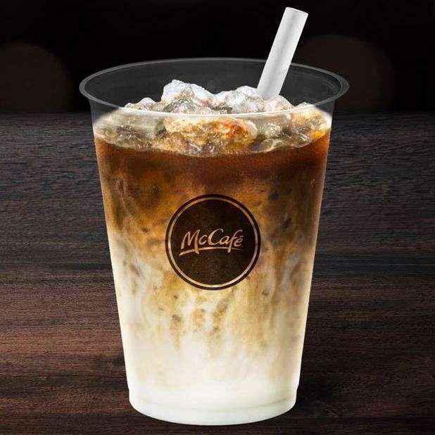 Free Iced Latte Via McDonald's App