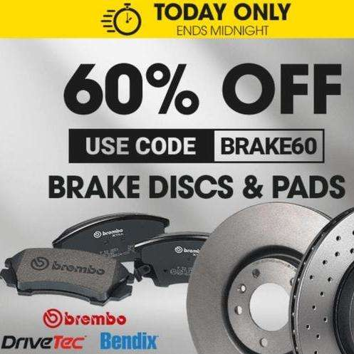 60% OFF brake discs and pads at GSF Car Parts - hotukdeals