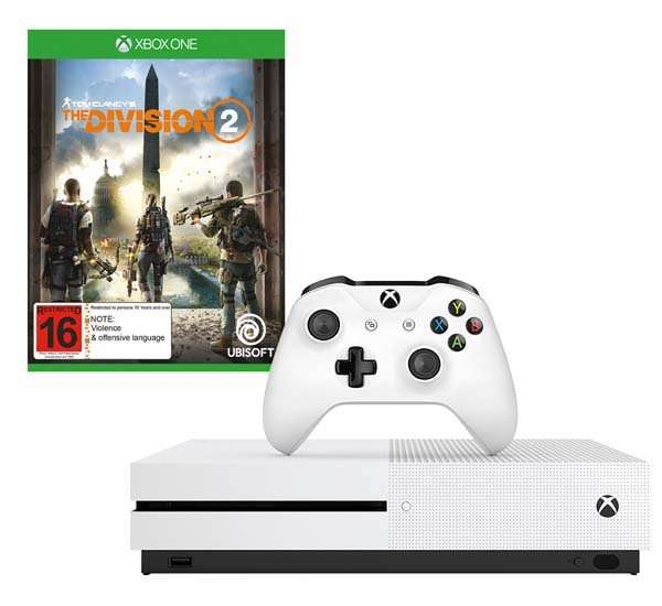 Xbox One S 1TB console bundled with Tom Clancy's The
