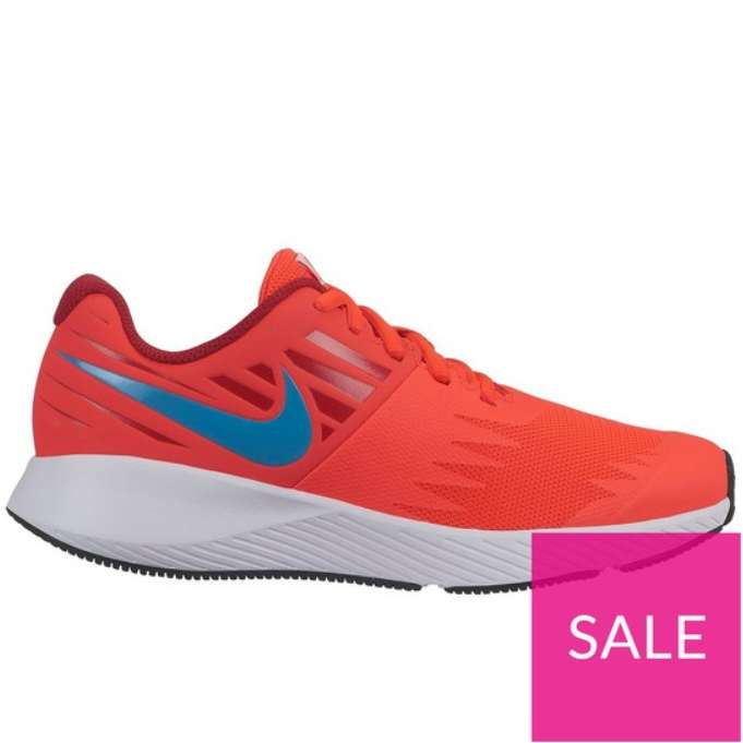 best sneakers 3cdca df295 Nike Star Runner Junior Trainers - Red Blue - £20 (Free C C) at Very