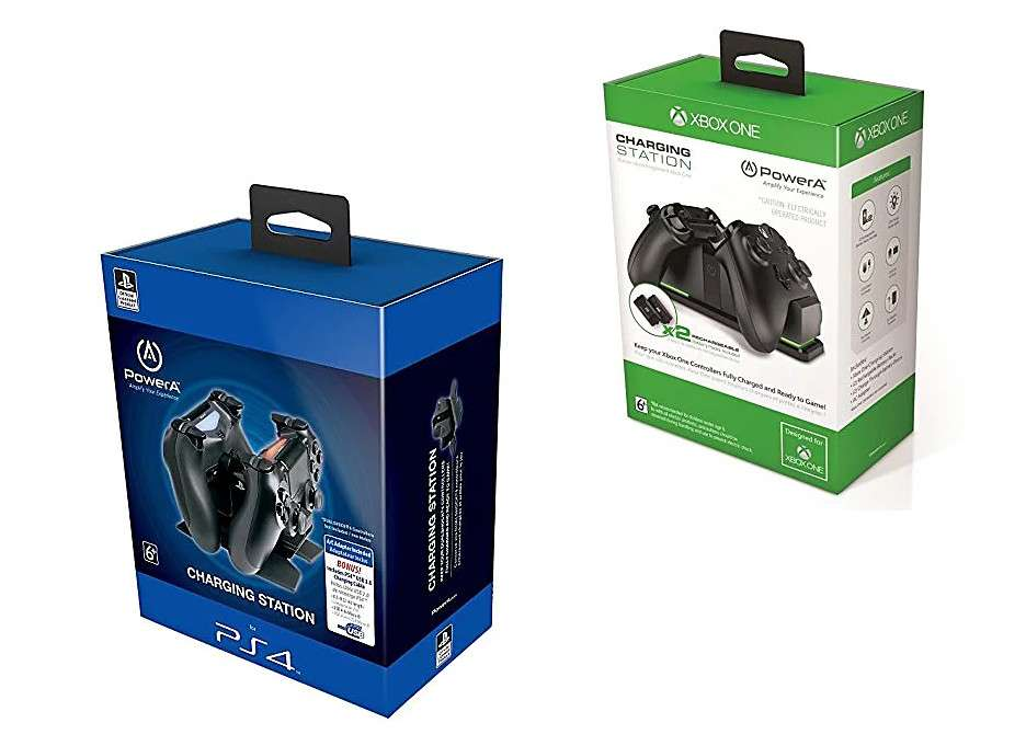 Dualshock 4 Charging Station for PS4 Controllers or Xbox One