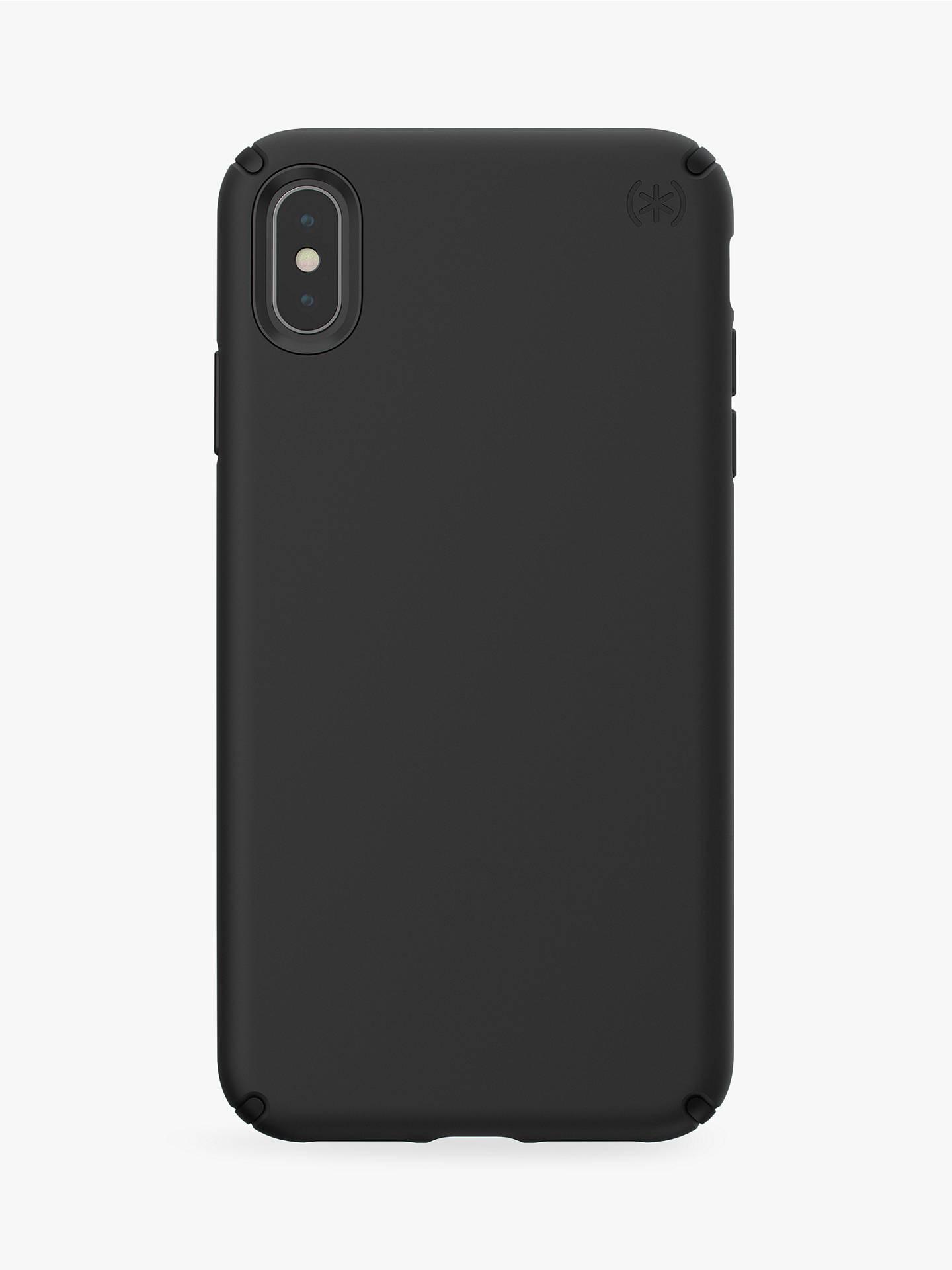 buy popular 31cc6 3fa98 Speck Presidio Pro Case for iPhone XS Max, Black £10 @ John Lewis ...