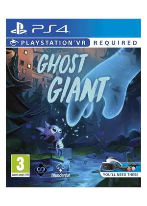 Ghost Giant (PSVR/PS4) £14 85 / The Wizards (PSVR/PS4