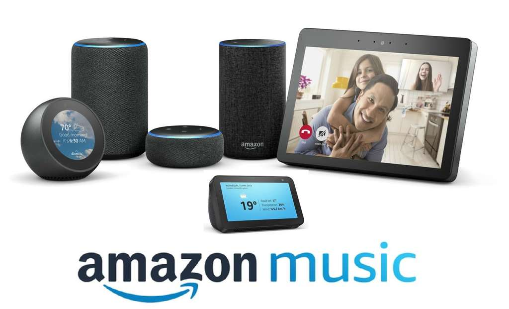 6 Months Free Amazon Music Unlimited with purchase of Echo devices