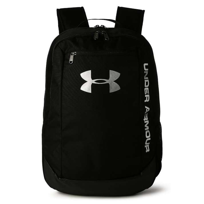 9dbfed67c7 Under Armour Men's Hustle Ld Water Resistant Backpack Laptop ...