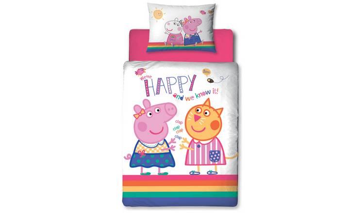 on sale aabaa 11c24 Peppa Pig Bedding Set - Toddler @ Argos Free C&C £9.99 ...
