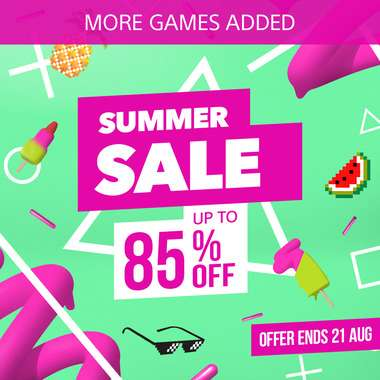 Summer Sale additions at PlayStation PSN Indonesia - Bioshock