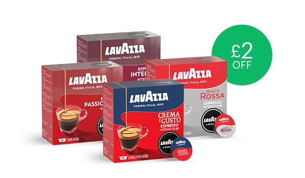 Lavazza Coffee Pods 2 Off Packs Of 36 760 380